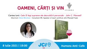 Oameni și Cărți - JCI Iași 2021